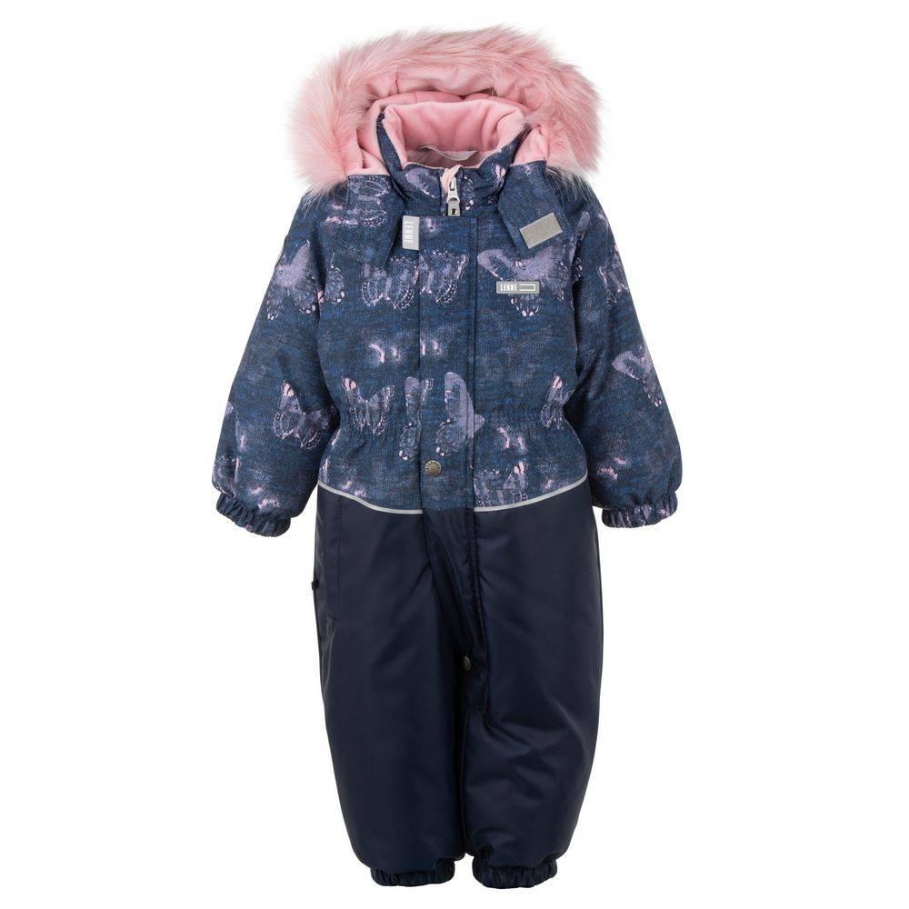 Комбинезон для мальчика LENNE зимний цельный капюшон и опушка съемные DORA 20319А