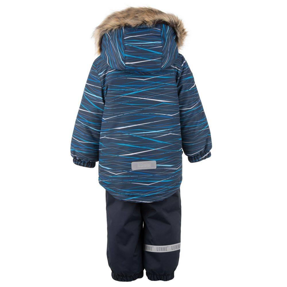 Комплект для мальчика LENNE зимний куртка полукомбинезон ROBIN 20314