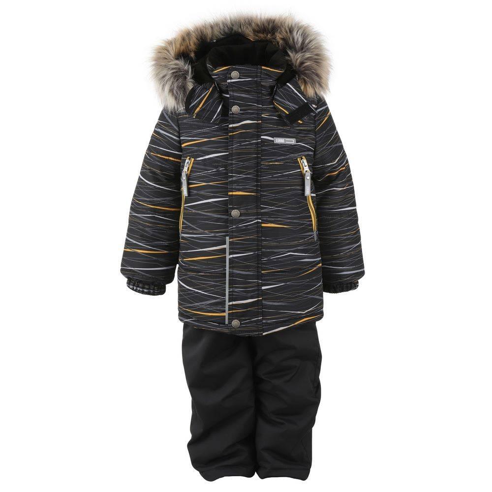 Комплект для мальчика LENNE зимний куртка полукомбинезон CITY 20336