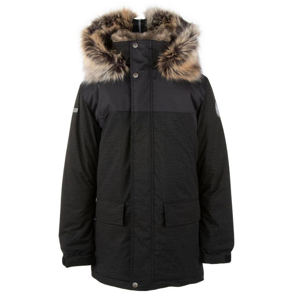 Парка Куртка для мальчика LENNE зимняя с капюшоном ткань Aсtive WALT 20368А
