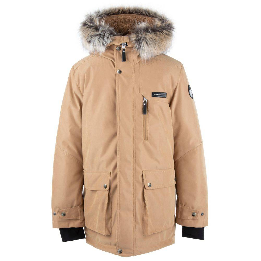 Парка Куртка для мальчика LENNE зимняя с капюшоном ткань Aсtive JARI 20668