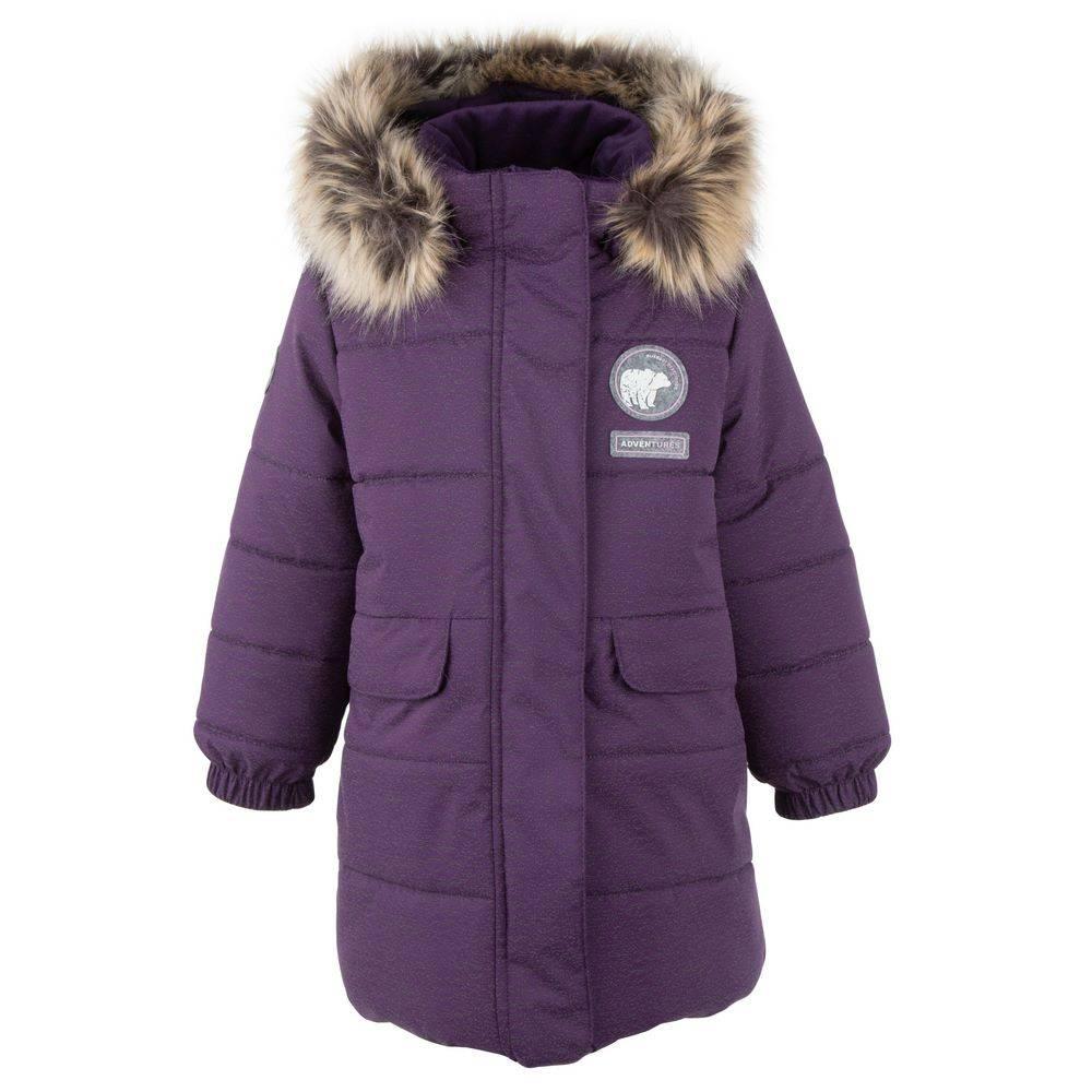 Пальто для девочки LENNE зимнее капюшон съемный ткань светящаяся Active LEANNA 20333
