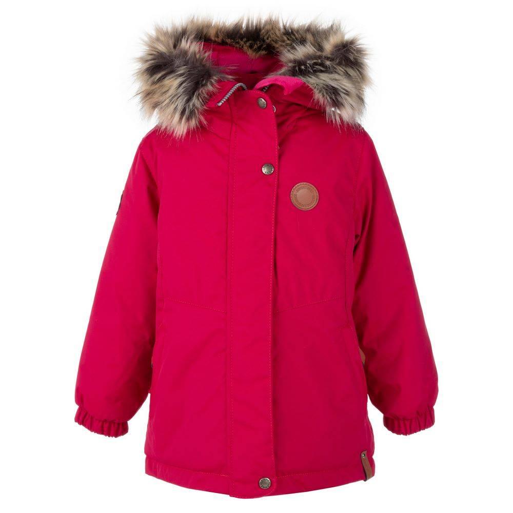 Парка куртка для девочки LENNE зимнее с капюшон съемный ткань Active PLUS MARI 20335A