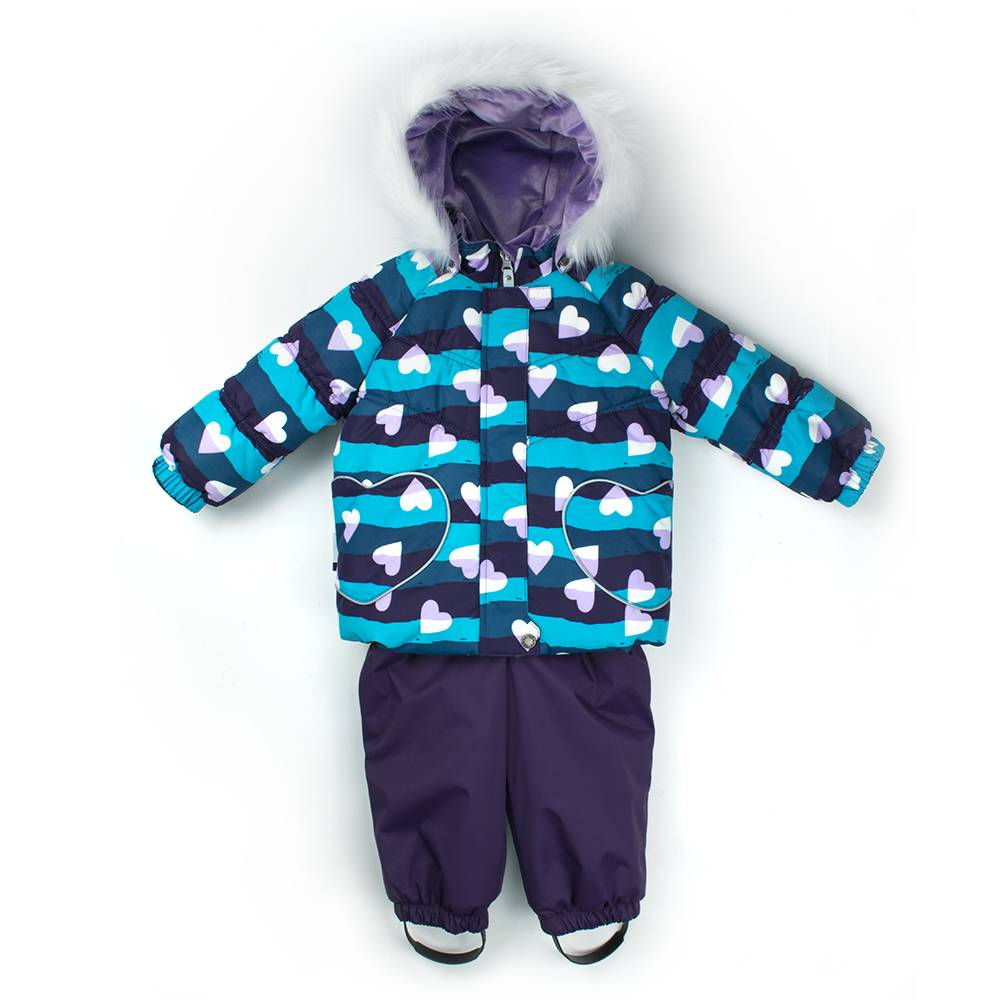 Комплект для девочки LENNE зимний куртка полукомбинезон BRITT 18320A/1600