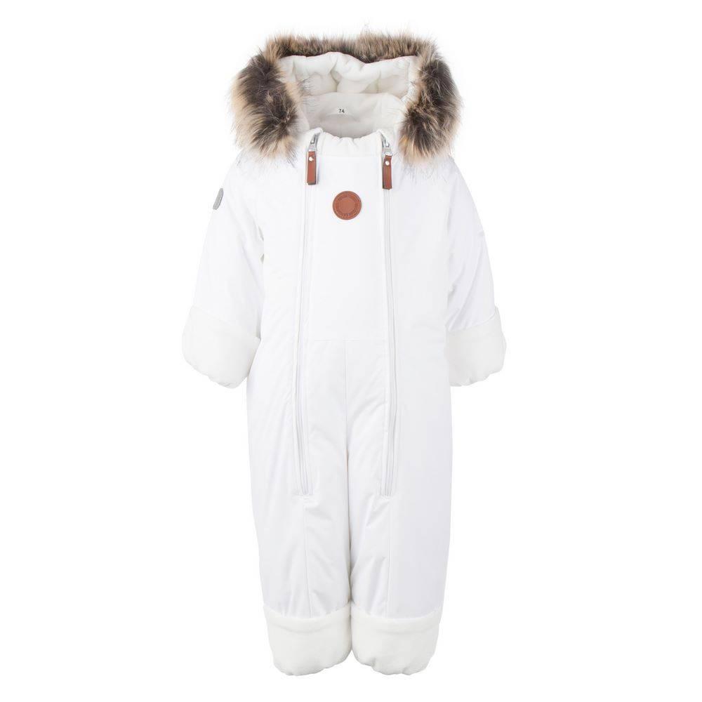 Комбинезон детский LENNE зимний цельный капюшон со съемной опушкой BUNNY 20302