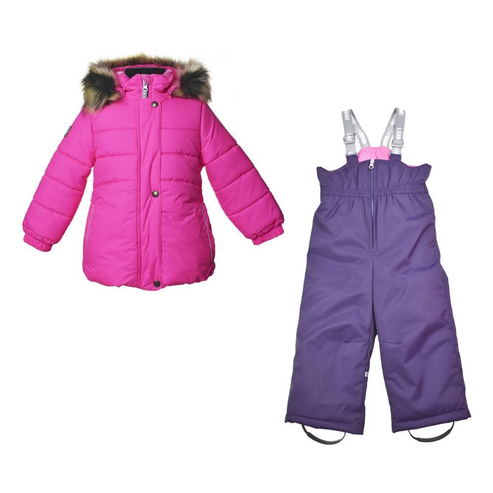 Комплект для девочки LENNE зимний куртка полукомбинезон ROSSA 20721