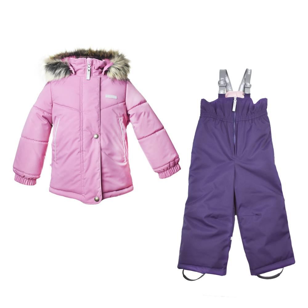 Комплект для девочки LENNE зимний куртка полукомбинезон ROWENA 20723