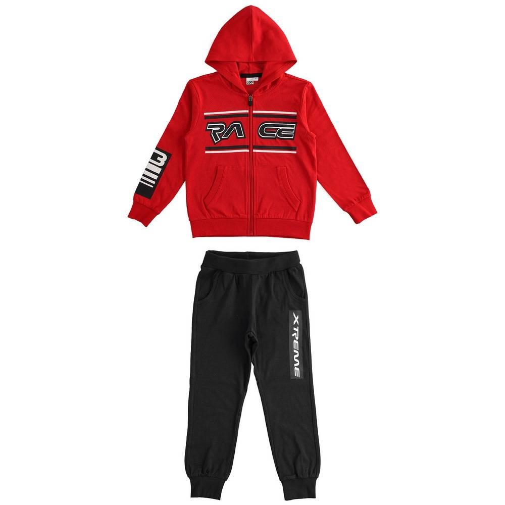 Комплект для мальчика iDO подросток спортивный трикотажный толстовка штаны 4.2448.00/2256