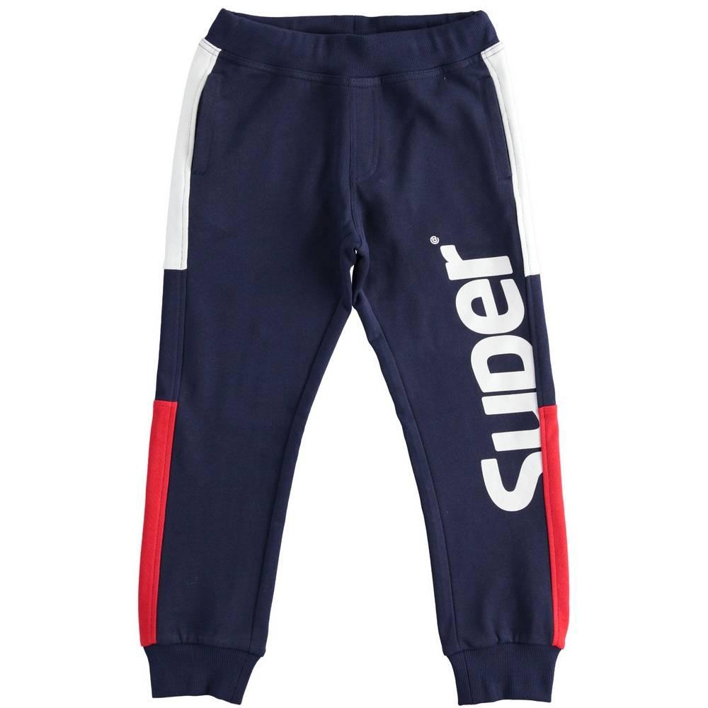 Штаны спортивные для мальчика iDO хлопок трикотаж 4.2412.00