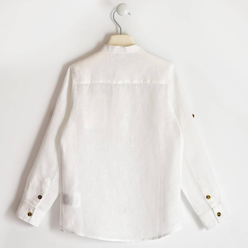 Рубашка для мальчика iDO подростка классика белая 4.2403.00/0113