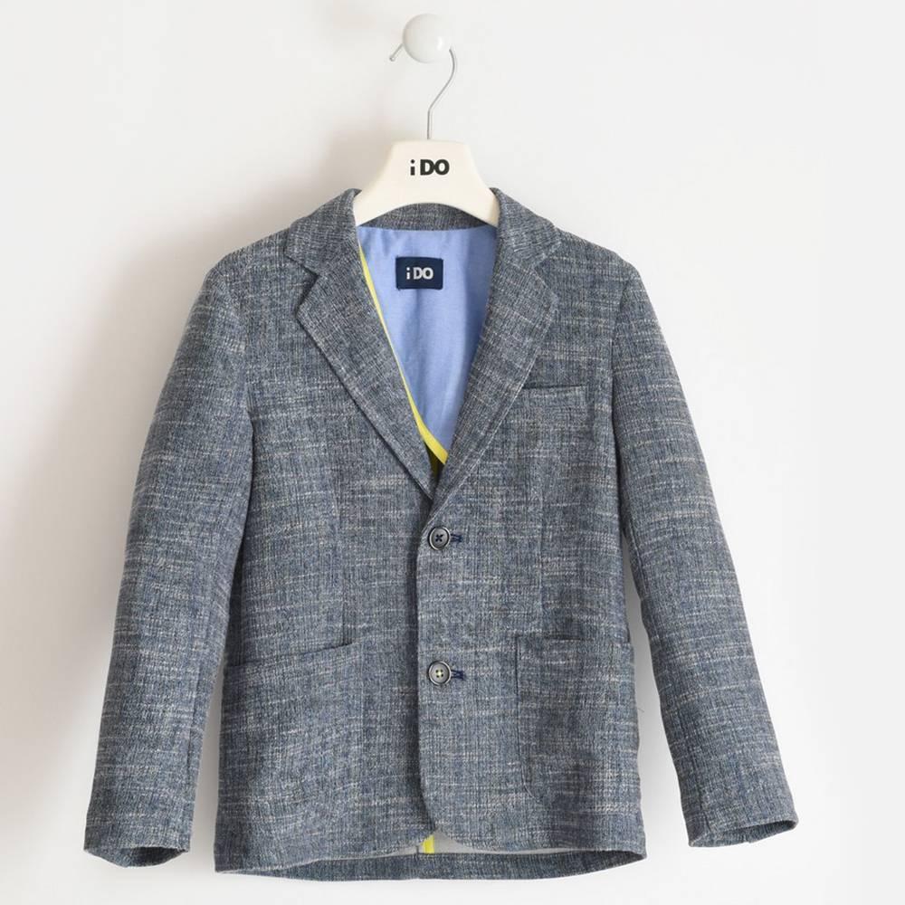 Пиджак для мальчика iDO подростка элегантный стильный 4.2430.00/6PS3
