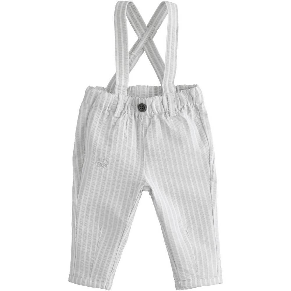 Брюки для мальчика iDO новорожденного на подтяжках 4.2085.00/0519