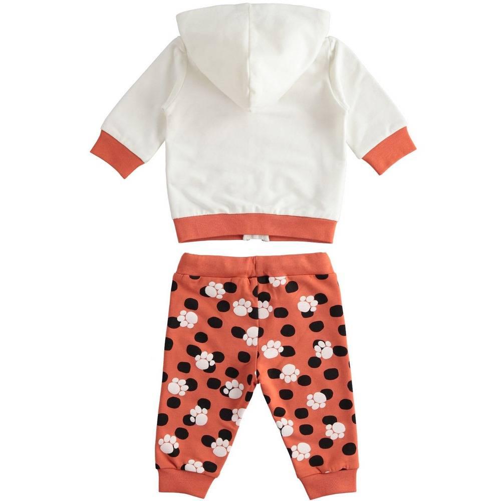 Комплект детский iDO спортивный трикотажный толстовка с капюшоном штаны 4.2057.00/0112
