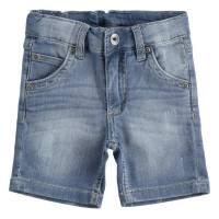 Шорты для мальчика iDO хлопок джинсовые потертости 4.2697.00/7400