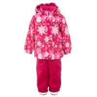 Комплект для девочки LENNE демисезонный куртка полукомбинезон RADA 21211/sample