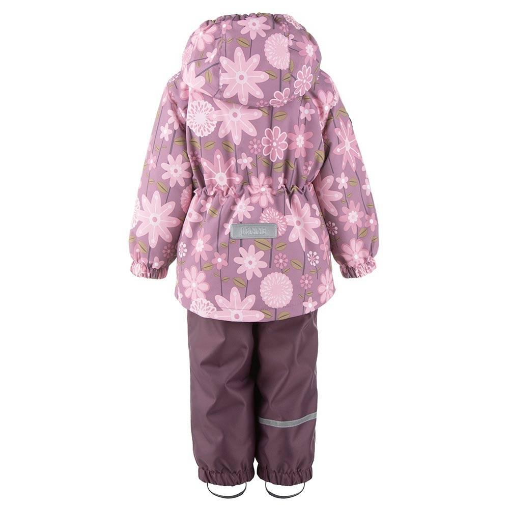Комплект для девочки LENNE демисезонный куртка полукомбинезон RADA 21211/6105