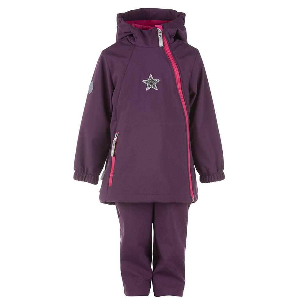 Комплект для девочки LENNE демисезонный куртка полукомбинезон Softshell DELILA 21232/sample