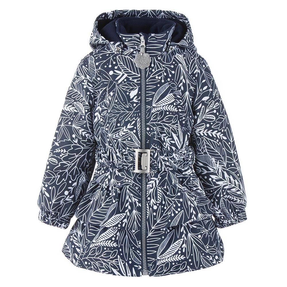 Пальто для девочке LENNE демисезонное капюшон ткань Active POLLY 21235/sample