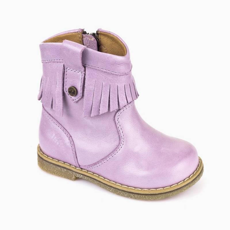 Демисезонные кожаные сапоги Froddo для девочки   Магазины iDO Киев c8ab9b7f49f