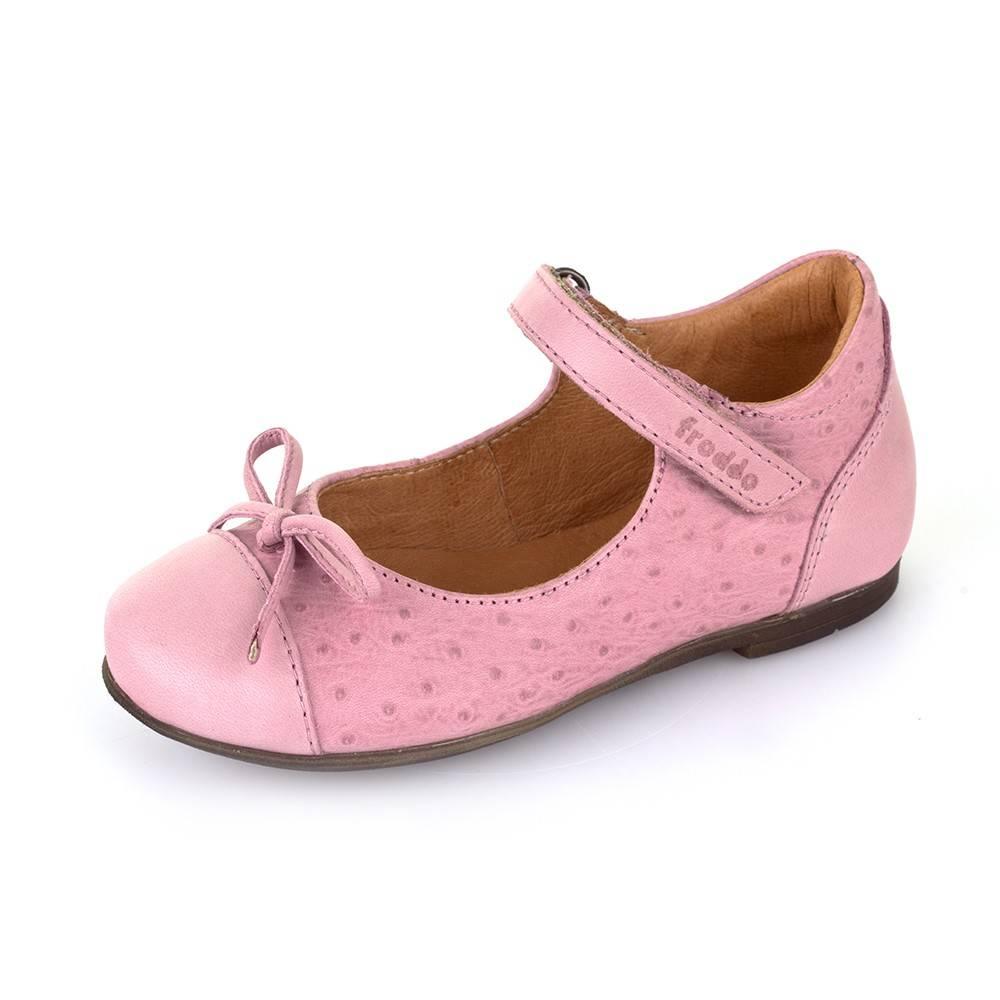 Туфли для девочки Froddo натуральная кожа розовый G3140056-1/Pink
