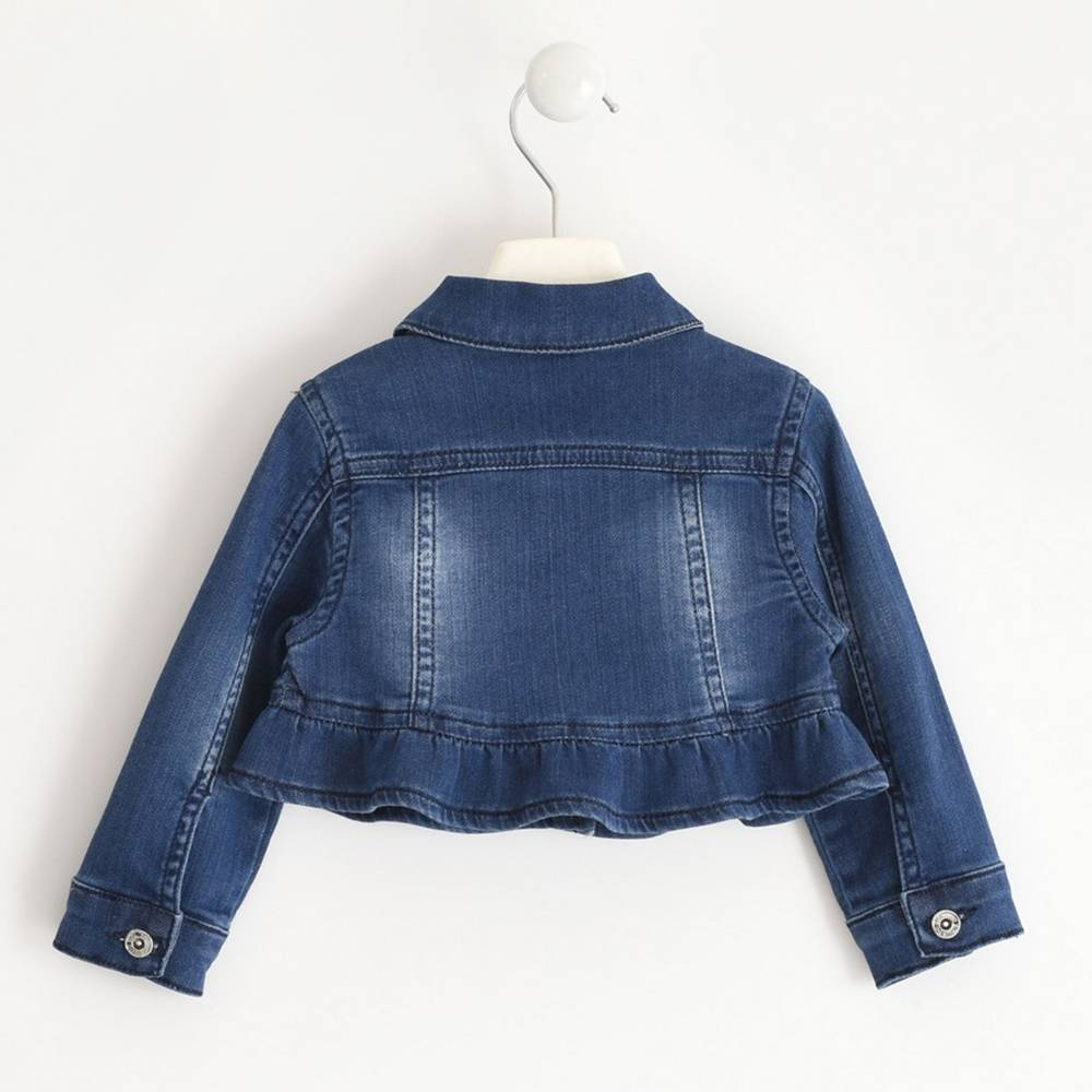 Куртка для девочки iDO джинсовая 4.J350.00/7450