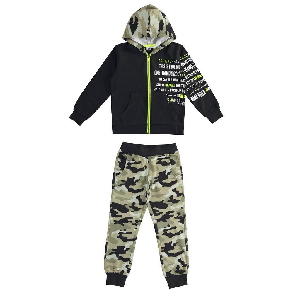 Комплект для мальчика iDO подросток спортивный трикотажный толстовка штаны 4.2451.00/0658