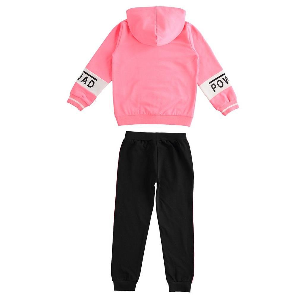 Комплект для девочки iDO подростка спортивный толстовка штаны 4.2733.00/5828