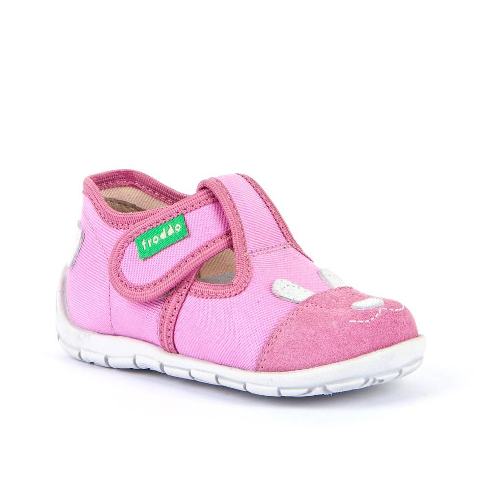 Тапочки для девочки Froddo анатомический супинатор G1700273-1/Pink