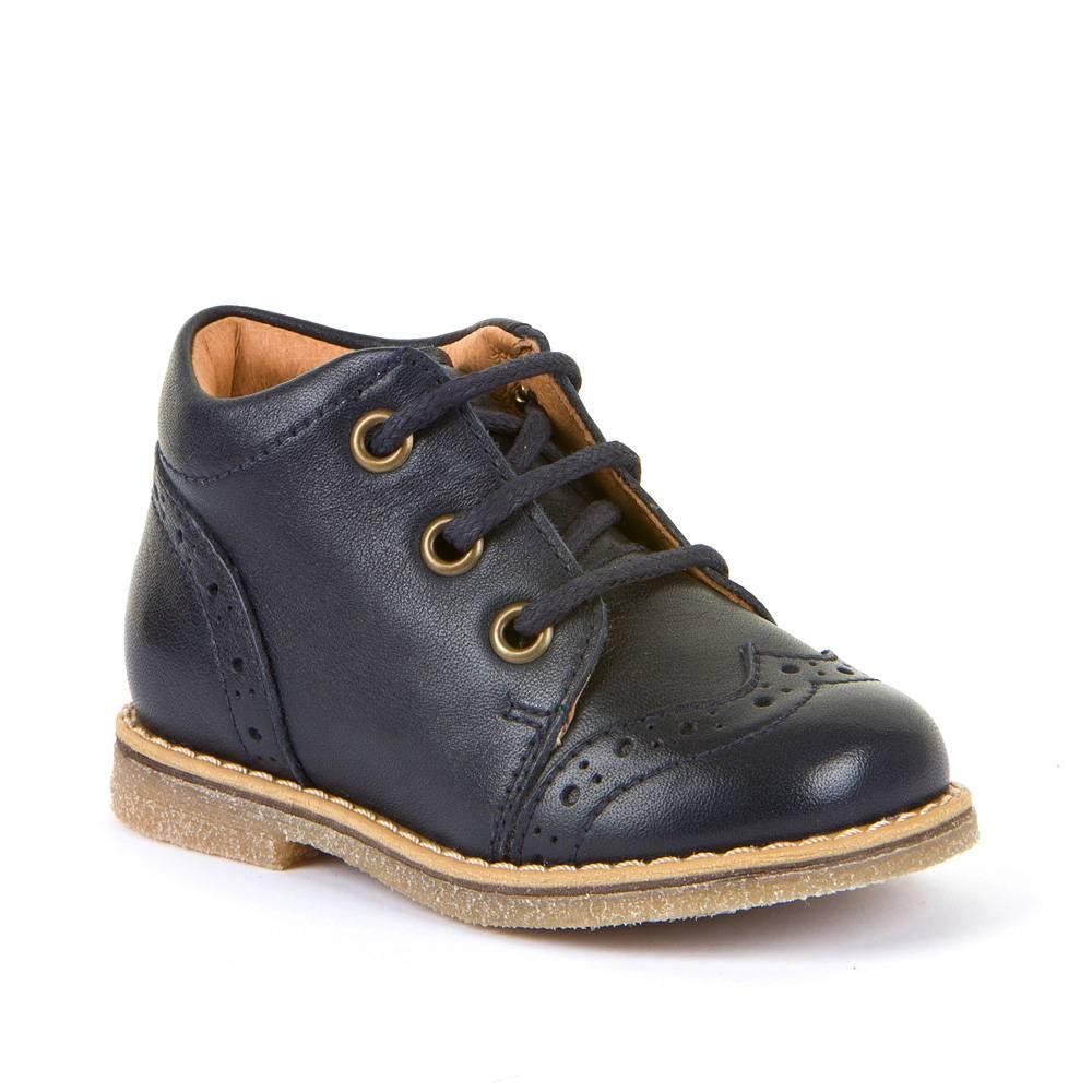 Ботинки для мальчика Froddo демисезонные молния натуральная кожа G2130228-1/DarkBlue