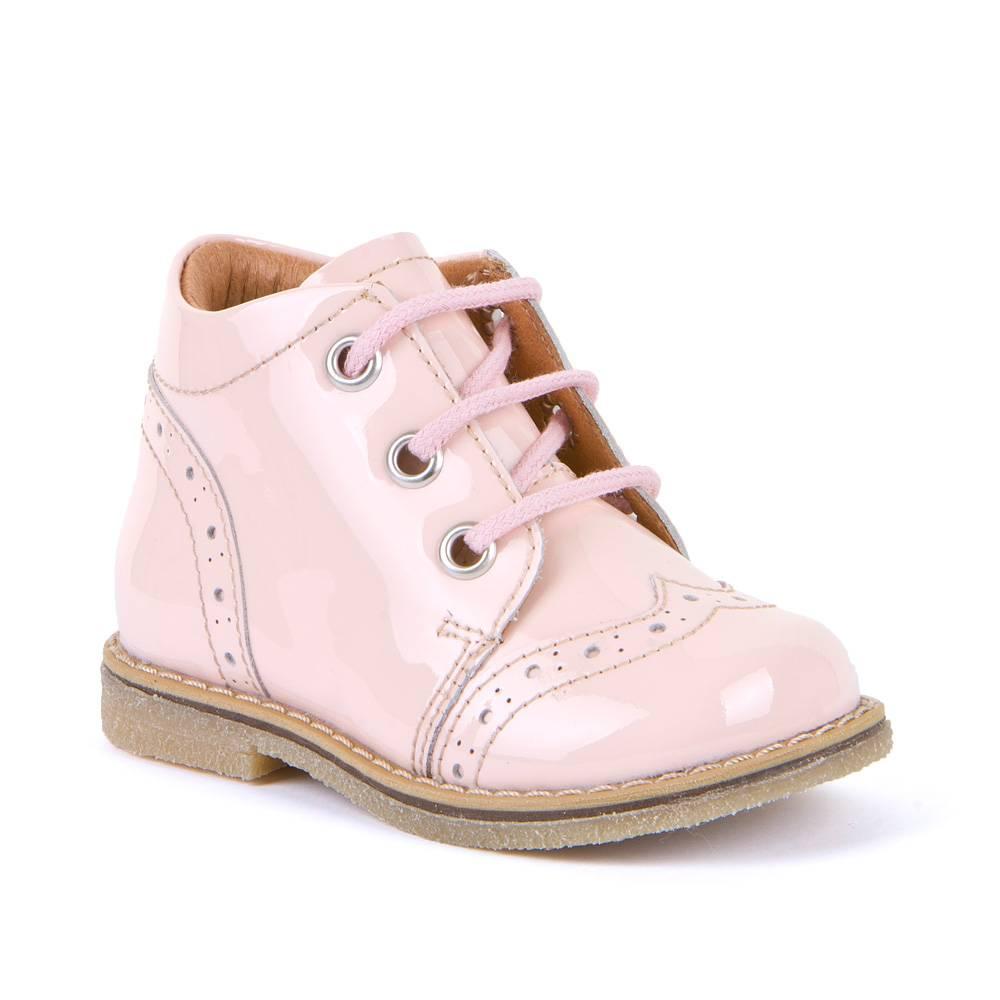 Ботинки для девочки Froddo демисезонные молния натуральная кожа G2130228-5/PinkPatent