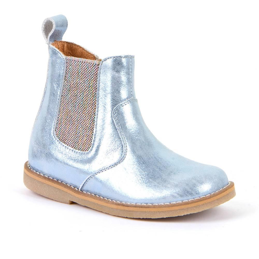 Ботинки для девочки Froddo демисезонные натуральная кожа бежевый G3160141-6/Ice