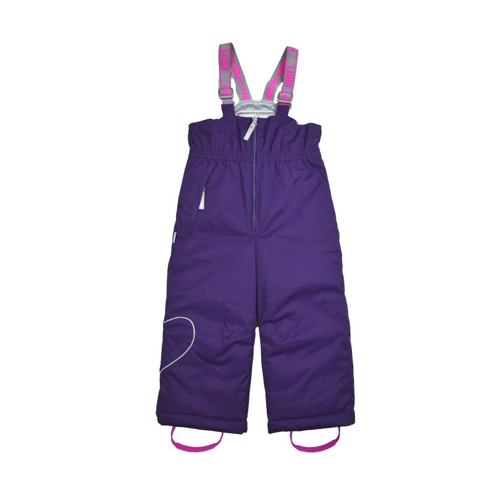 Полукомбинезон для девочки LENNE зимний штрипки шлейки ткань Active PLUS HEILY 20353