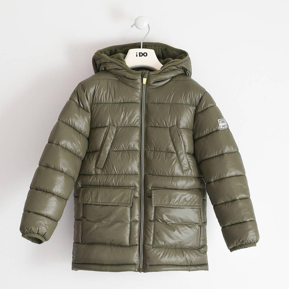 Куртка для мальчика iDO подросток демисезонная утепленная капюшон 4.3392