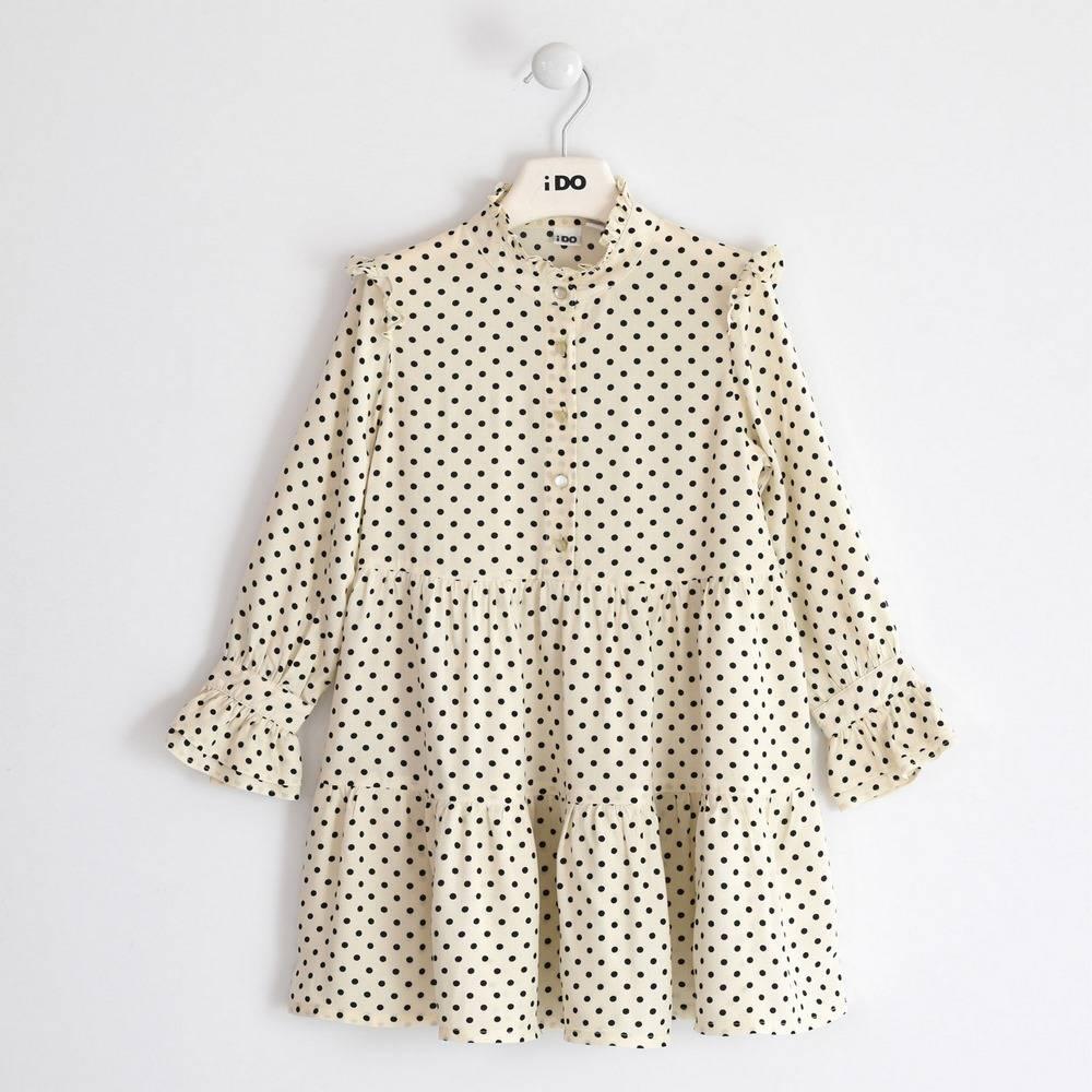 Платье для девочки IDO подросток длинный рукав 4.3972