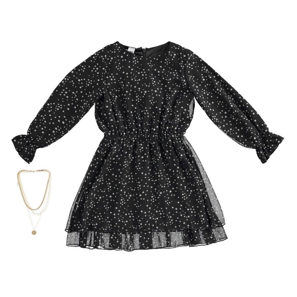 Платье для девочки IDO подросток длинный рукав 4.3976.00/6RN9