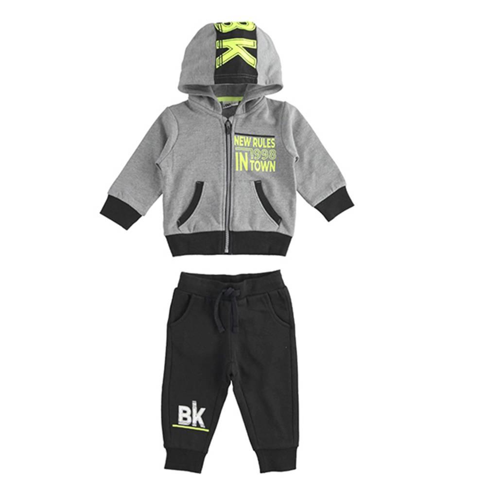 Комплект для мальчика iDO спортивный трикотажный толстовка штаны 4.3480