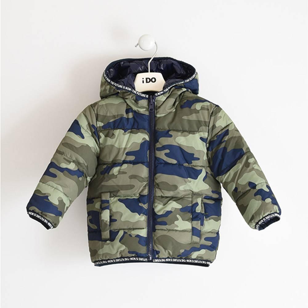 Куртка для мальчика iDO демисезонная двухсторонняя с капюшоном 4.3493.00/6RF4