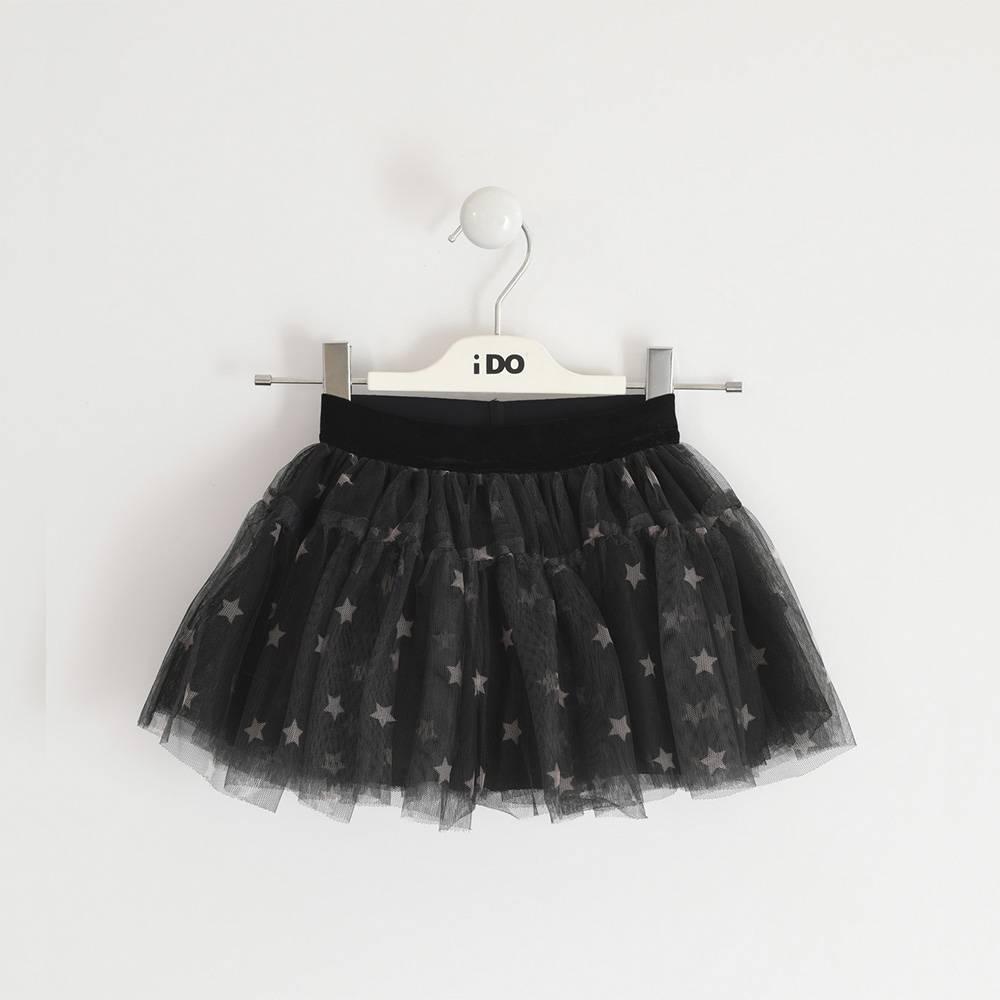 Юбка для девочки iDO летняя многослойная на подкладке 4.3661.00/6QW6