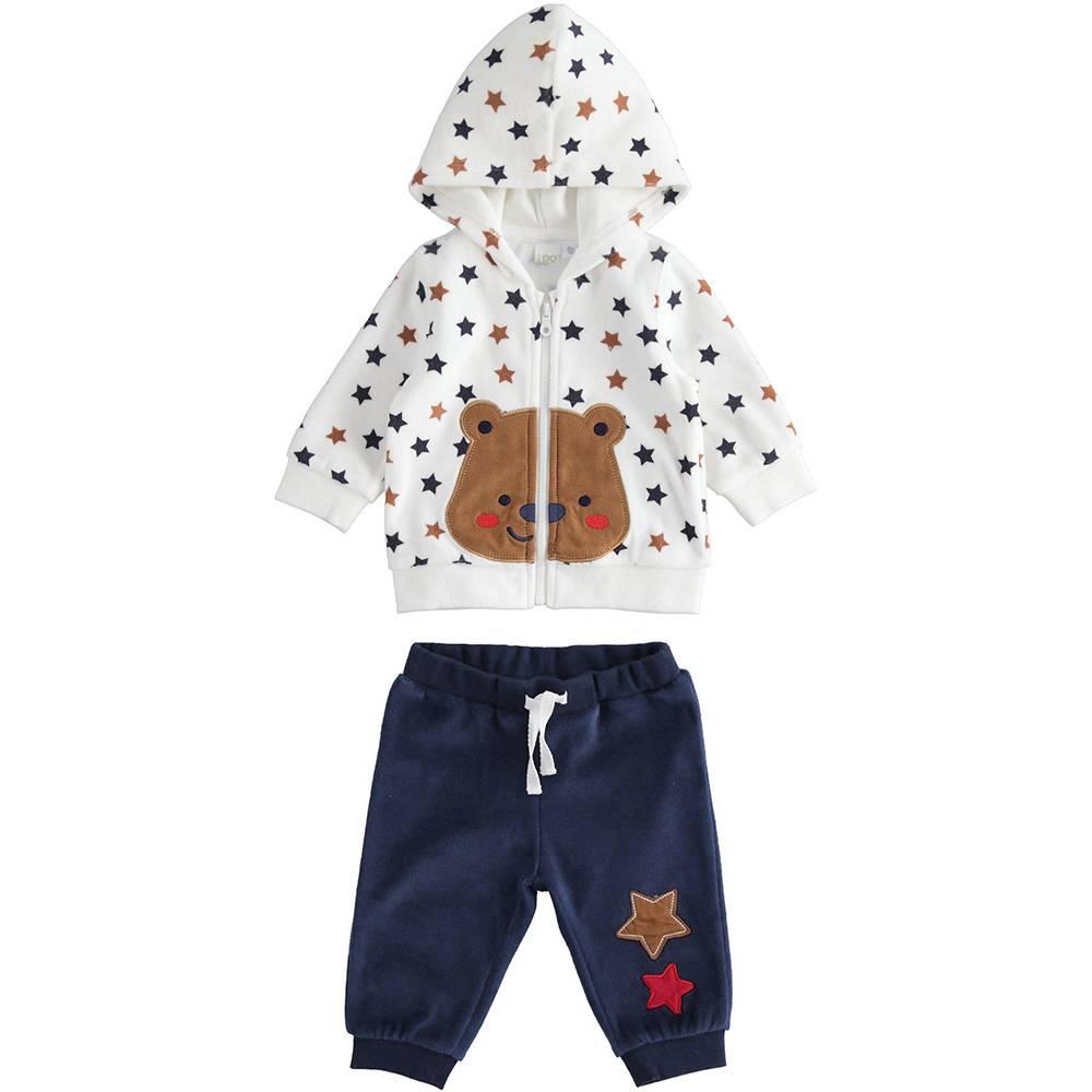 Комплект для мальчика iDO спортивный трикотажный толстовка штаны 4.3153.00/6QZ4