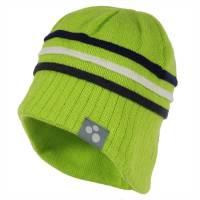 Шапка для мальчика HUPPA зимняя зеленая вязаная JOOSEP 83600000/60047