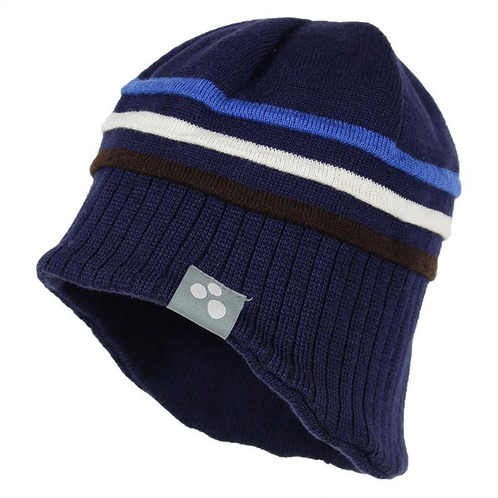 Шапка для мальчика Huppa вязаная зимняя синий JOOSEP 83600000/60086