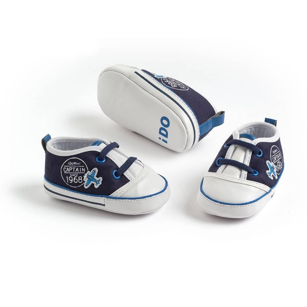 Пинетки для мальчика IDO синий 4.S937.00/8004