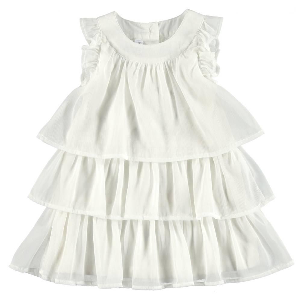 Платье для девочки iDO летнее нарядное без рукава 4.S336.00/0112