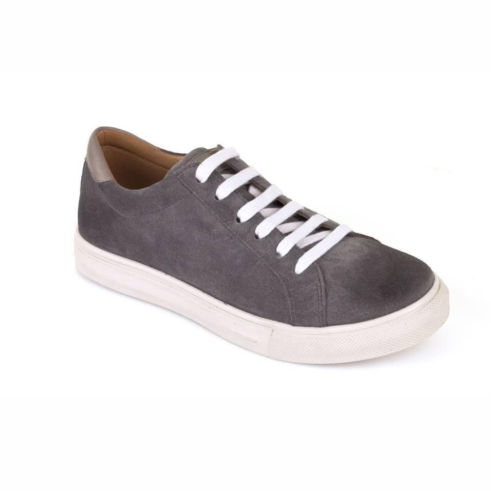 Кроссовки для мальчика Froddo натуральная кожа на шнурках G4130052-3/Grey