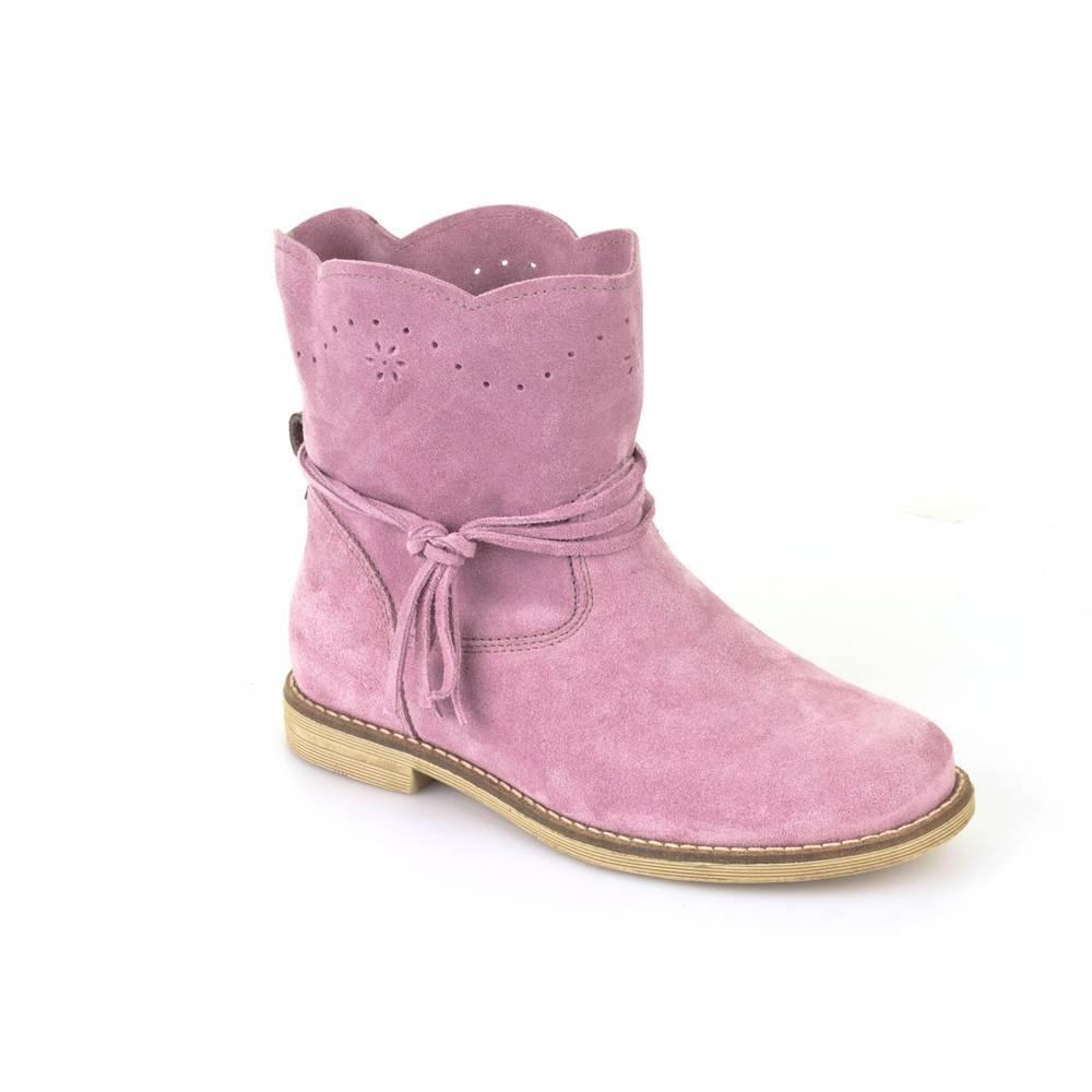 Сапоги для девочек Froddo натуральная кожа розовый G4160049-2/Pink