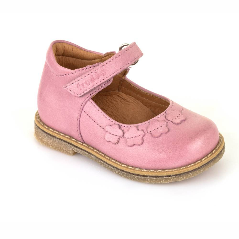 Туфли для девочки Froddo натуральная кожа перепонка розовый G2140027-1/Pink