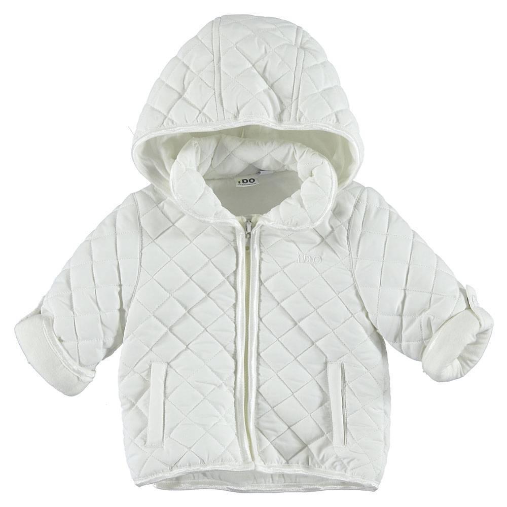 Куртка детская iDO демисезонная стеганная с капюшоном 4.S149.00/0113