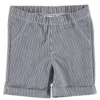 Шорты для мальчика iDO хлопок синяя полоска 4.S611.00/3856