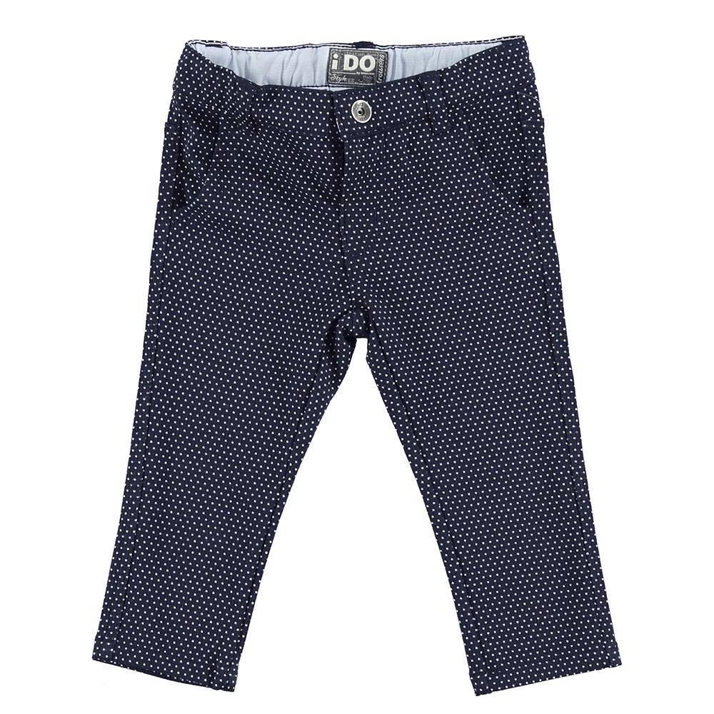 Брюки для мальчика iDO синий хлопок 4.S262.00/3856