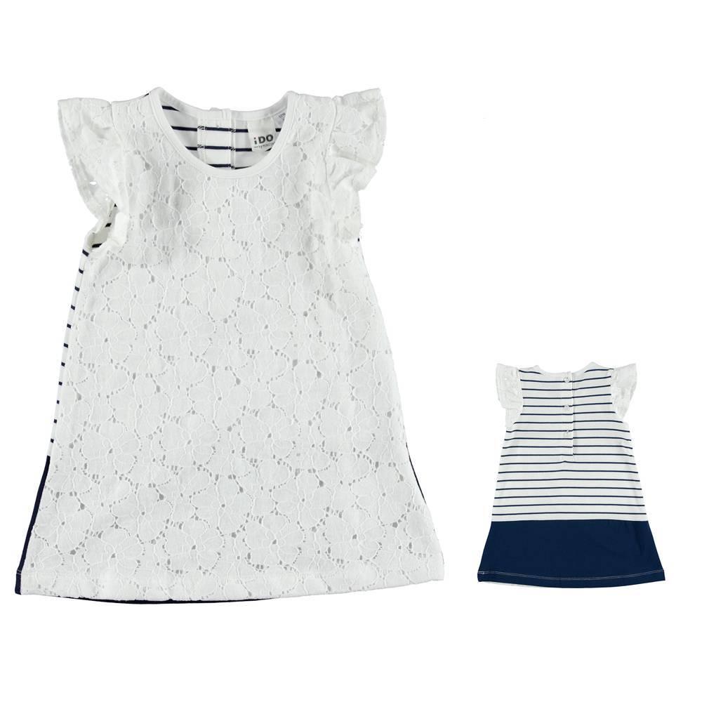 Платье для девочки iDO летнее трикотаж 4.S772.00/8216